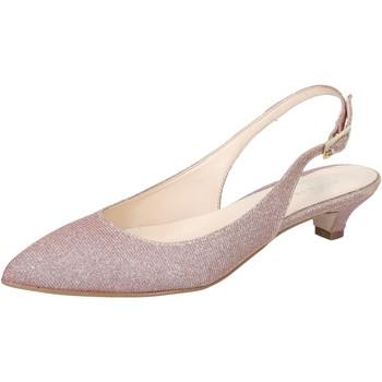 Buty Damskie Sandały Olga Rubini Sandały BY275 Różowy