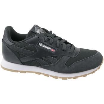 Buty Dziecko Trampki Reebok Sport Cl Leather ESTL CN1142 Szare