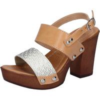 Buty Damskie Sandały Made In Italia BY516 Srebrny