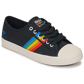 Buty Damskie Trampki niskie Gola Coaster rainbow Czarny