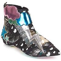 Buty Damskie Buty za kostkę Irregular Choice Electric boots Czarny / Silver