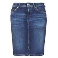 tekstylia Damskie Spódnice Pepe jeans TAYLOR Niebieski / Medium