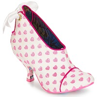 Buty Damskie Low boots Irregular Choice Love is all around Biały / Różowy