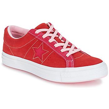 Buty Damskie Trampki niskie Converse ONE STAR OX Czerwony / Różowy