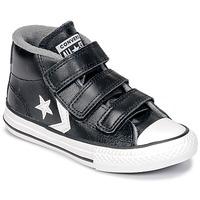 Buty Dziecko Trampki wysokie Converse STAR PLAYER 3V MID Czarny / Vintage / Biały