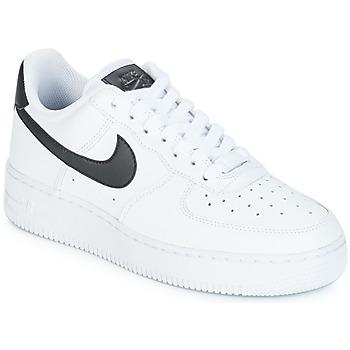 Buty Damskie Trampki niskie Nike AIR FORCE 1'07 W Biały / Czarny