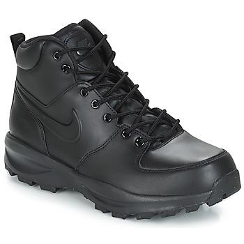 Buty Męskie Buty za kostkę Nike MANOA LEATHER BOOT Czarny