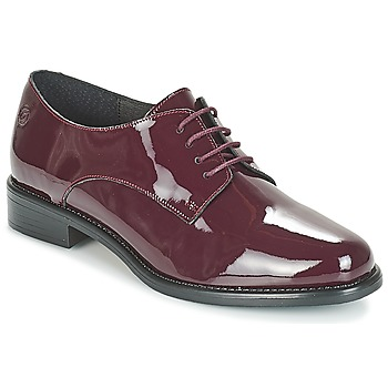 Buty Damskie Derby Betty London CAXO Bordeaux