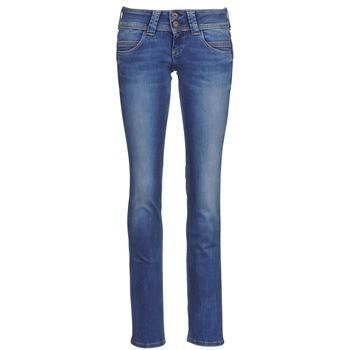 Jeansy straight leg Pepe jeans VENUS