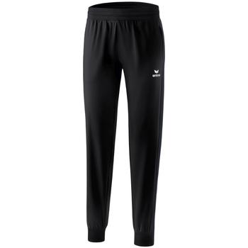 tekstylia Damskie Spodnie dresowe Erima Pantalon présentation femme  Premium One 2.0 noir