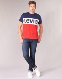 tekstylia Męskie Jeansy slim fit Levi's 511 SLIM FIT Niebieski