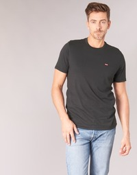 tekstylia Męskie T-shirty z krótkim rękawem Levi's SS ORIGINAL HM TEE Czarny