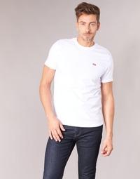 tekstylia Męskie T-shirty z krótkim rękawem Levi's SS ORIGINAL HM TEE Biały