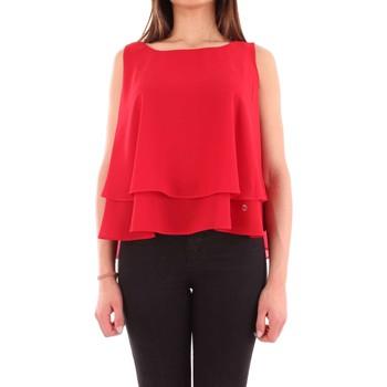tekstylia Damskie Koszule Fly Girl 2371/2209/0610 Czerwony