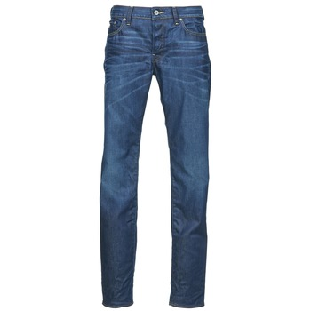 tekstylia Męskie Jeansy straight leg G-Star Raw 3301 LOW TAPERED Niebieski / Medium