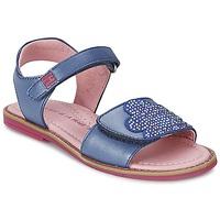 Buty Dziewczynka Sandały Agatha Ruiz de la Prada MISS PONZA Niebieski