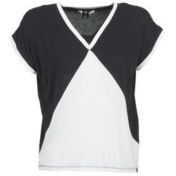 tekstylia Damskie T-shirty z krótkim rękawem Nikita NEWSON Czarny / Biały