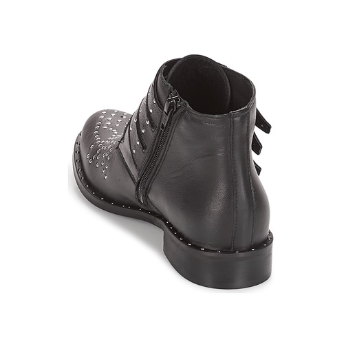 ELUCY  Sweet Lemon  buty za kostkę  damskie  czarny