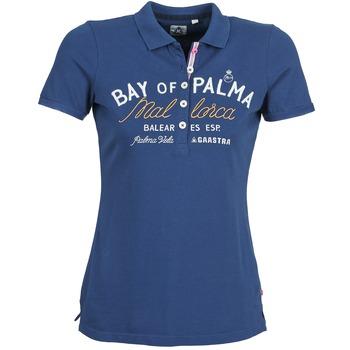 tekstylia Damskie Koszulki polo z krótkim rękawem Gaastra MISTY Niebieski