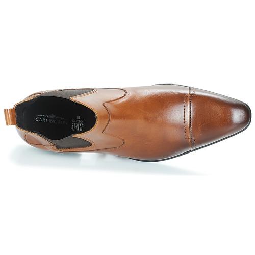 Carlington Erinzi Cognac - Bezpłatna Dostawa- Buty Za Kostkę Meskie 36900 Najniższa Cena
