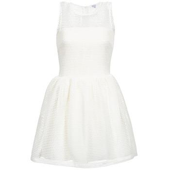 tekstylia Damskie Sukienki krótkie Brigitte Bardot AGNES Biały