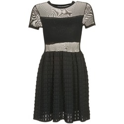 tekstylia Damskie Sukienki krótkie Brigitte Bardot ALBERTINE Czarny