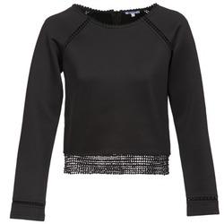 tekstylia Damskie Bluzy Brigitte Bardot AMELIE Czarny