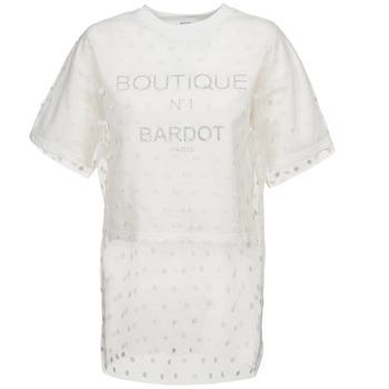 tekstylia Damskie Bluzy Brigitte Bardot ANASTASIE Ecru