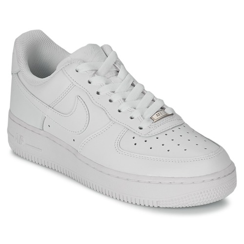 hot sale online eab1b ae8b4 Buty Damskie Trampki niskie Nike AIR FORCE 1 07 LEATHER W Biały