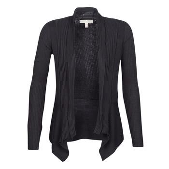 tekstylia Damskie Swetry rozpinane / Kardigany Esprit VECKY Czarny