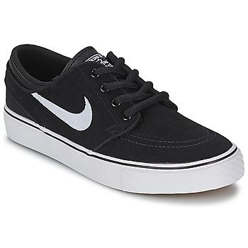 Buty Dziecko Trampki niskie Nike STEFAN JANOSKI ENFANT Czarny