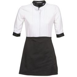 tekstylia Damskie Sukienki krótkie La City COLUMBA Czarny / Biały