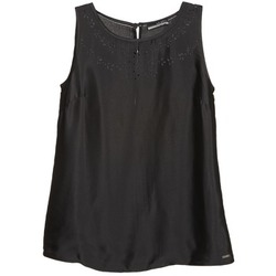 tekstylia Damskie Topy na ramiączkach / T-shirty bez rękawów La City LUCRETIA Czarny