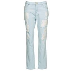 tekstylia Damskie Jeansy straight leg Cimarron BOY Niebieski / CLAIR