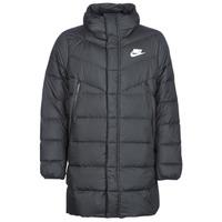 tekstylia Męskie Kurtki pikowane Nike BRENLA Czarny
