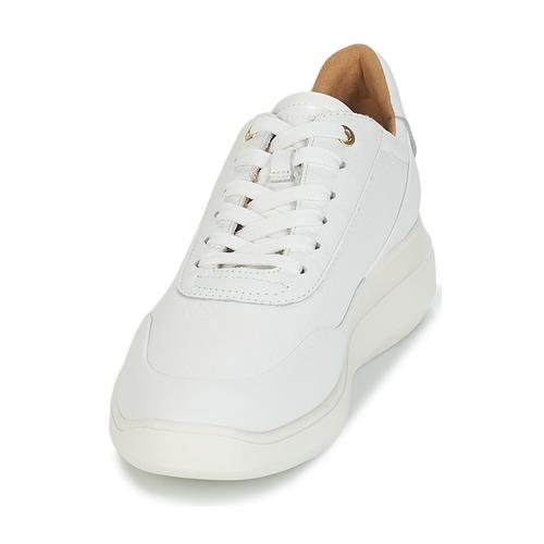 D RUBIDIA  Geox  trampki niskie  damskie  biały