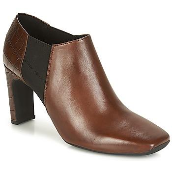 Buty Damskie Low boots Geox D VIVYANNE HIGH Brązowy