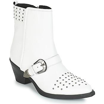 Buty Damskie Botki Geox D LOVAI Biały