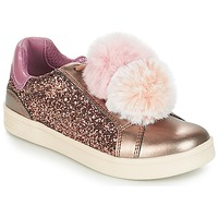 Buty Dziewczynka Trampki niskie Geox J DJROCK GIRL Beżowy / Różowy