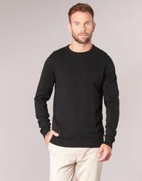 tekstylia Męskie Swetry Jack & Jones JJEBASIC Czarny