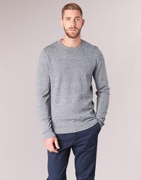 tekstylia Męskie Swetry Jack & Jones JJEBASIC Niebieski