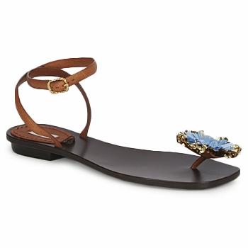 Buty Damskie Sandały Marc Jacobs MJ16131 Brązowy / Niebieski
