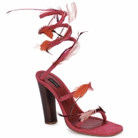 Buty Damskie Sandały Marc Jacobs MJ16385 Różowy