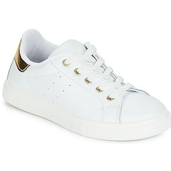 Buty Dziewczynka Trampki niskie André TAMARA Biały