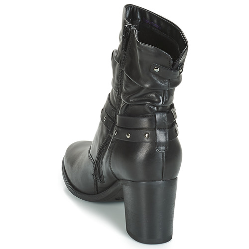 TOCSIN  André  buty za kostkę  damskie  czarny
