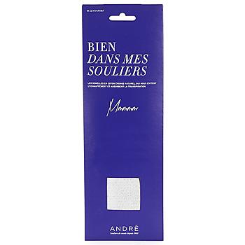 Dodatki Damskie Akcesoria do butów André SEMELLE EPONGE Biały
