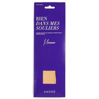 Dodatki Akcesoria do butów André SEMELLE CUIR Beżowy
