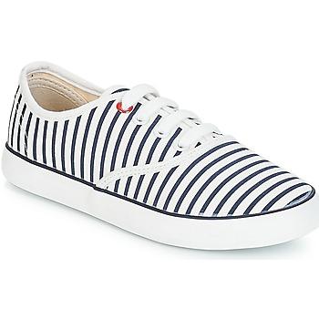 Buty Dziewczynka Trampki niskie André MARINETTE Biały