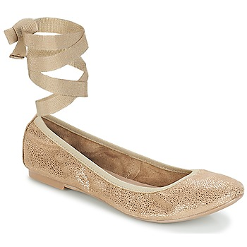 Buty Damskie Baleriny André ACTEE Taupe