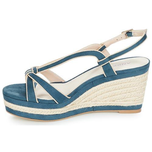 TEMPO  André  sandały  damskie  niebieski